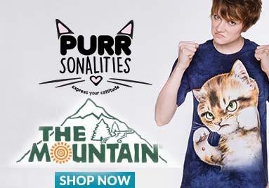 Τα αυθεντικά μπλουζάκια The Mountain από την Ibiscus
