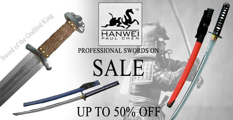 Professional swords on sale